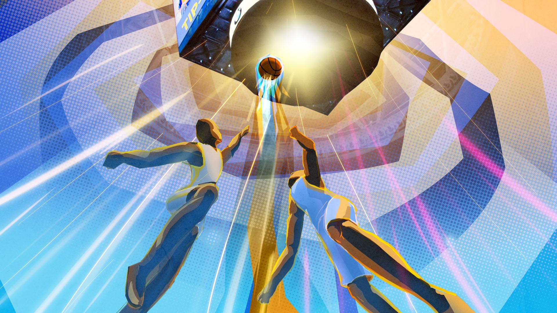 Golden State Warriors Concept Art