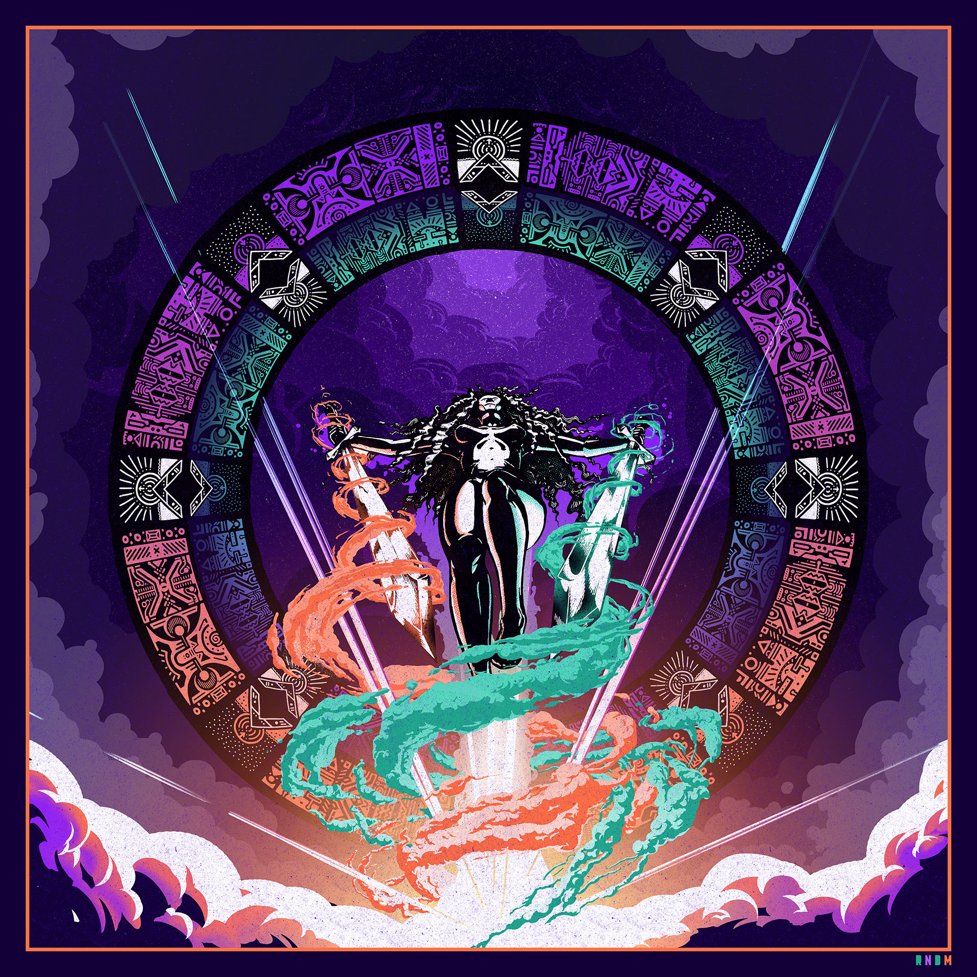 Runes of the Witch Knight color